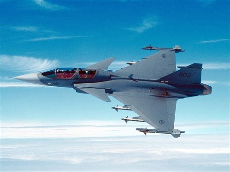 jet s saab pitches gripen fighter jets to malaysia scandasia