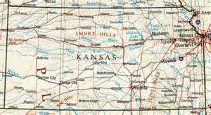 State Map Of Kansas kansas reference map