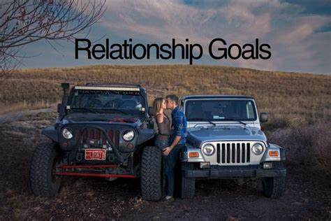 his and hers jeeps spreading the jeep wrangler style