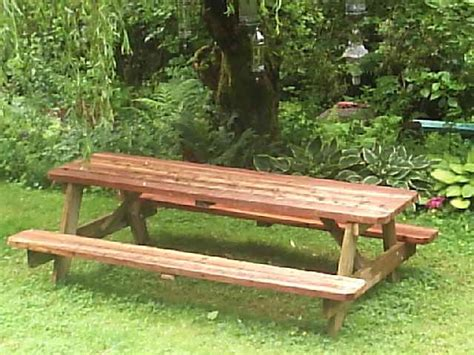 8 ft picnic table plans free picnic table plans 8 woodworking projects plans