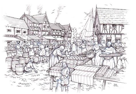 google design reference medieval marketplace google search doomed regiment