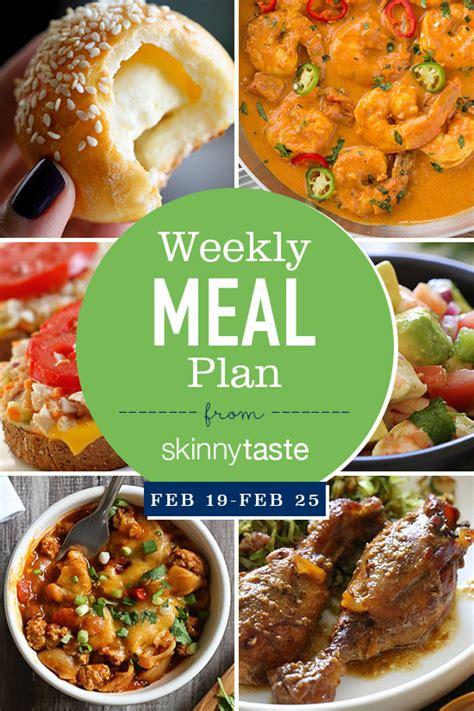 st s day food list skinnytaste meal plan february 19 february 25 skinnytaste