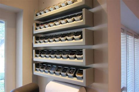 wall mounted spice rack cabinet ikea spice racks wall mounted design decoration