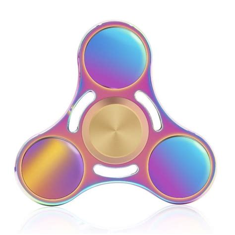 Fidget Spinner Wind Rainbow High Speed 7 of the coolest fidget spinners because omg are