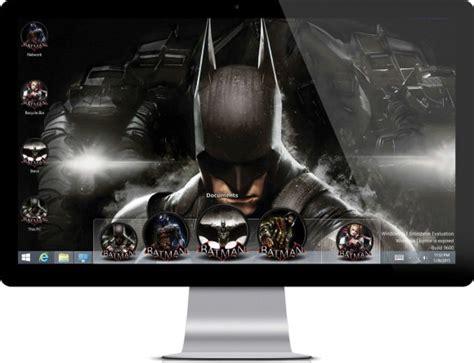batman wallpaper for windows 10 batman arkham knight windows 10 free theme