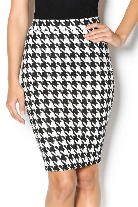 top 10 houndstooth pencil skirt from alabama by flaunt