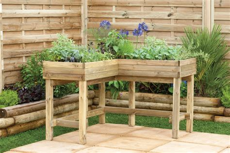 Patio Table Flower Planters by Forest Carbhd Venetian Corner Arbour Seat Hd