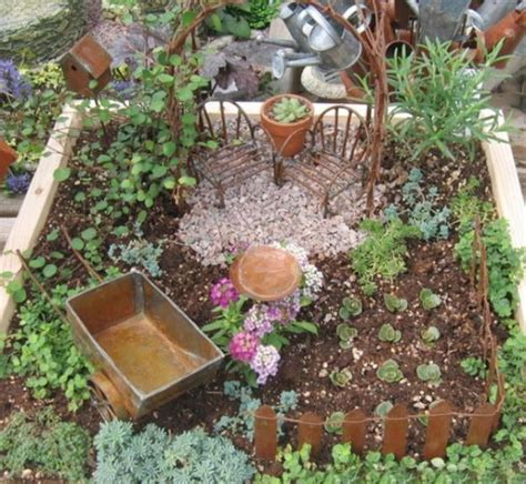 How To Recycle Miniature Fairy Garden Designs Mini Garden Ideas