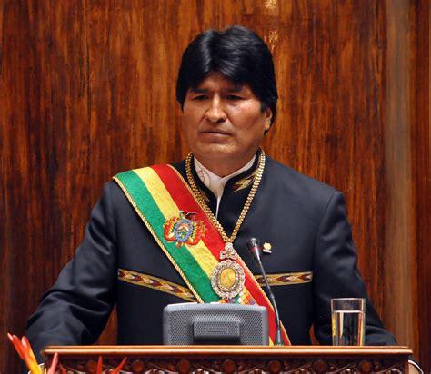 evo morales evo morales plantea 13 pilares para construir la bolivia