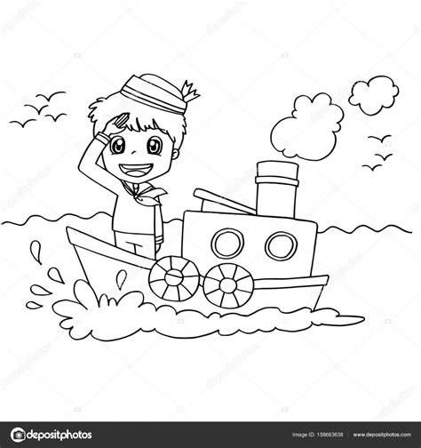 imagenes de un barco para colorear im 225 genes personas remando para colorear ni 241 o peque 241 o