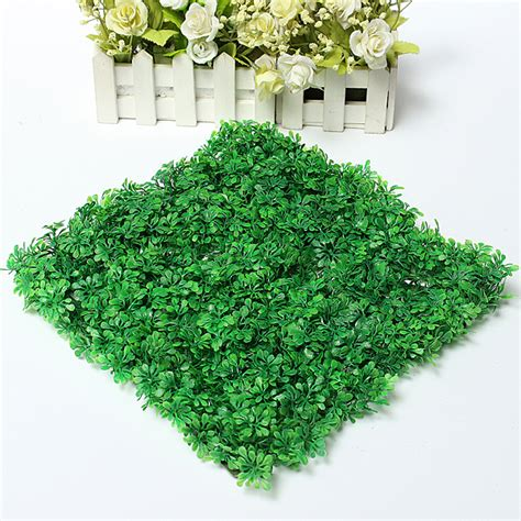 Plastic Grass Decoration by 25x25cm Plastic Home Lawn Artificial Grass Garden