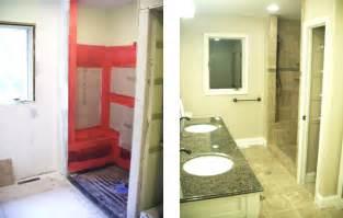 Before And After Master Bathroom Remodels Master Bathroom Remodel 9hammers