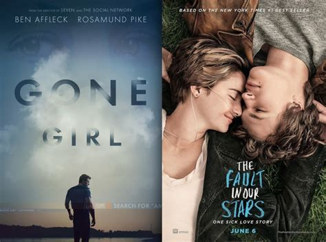 film bagus gone girl gone girl the fault in our stars screenplays now