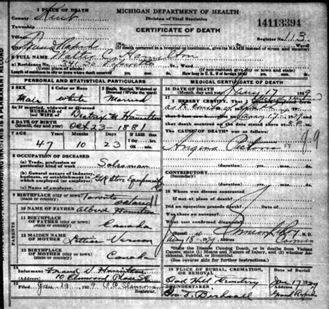 Seekingmichigan Org Records Article Seekingmichigan Org Is A Treasure Trove For Family Historians Rick