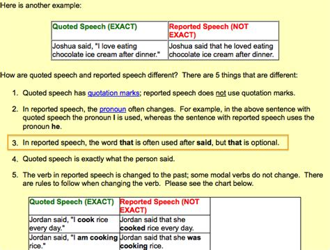syntax when should i use the word that between parts of sentences language