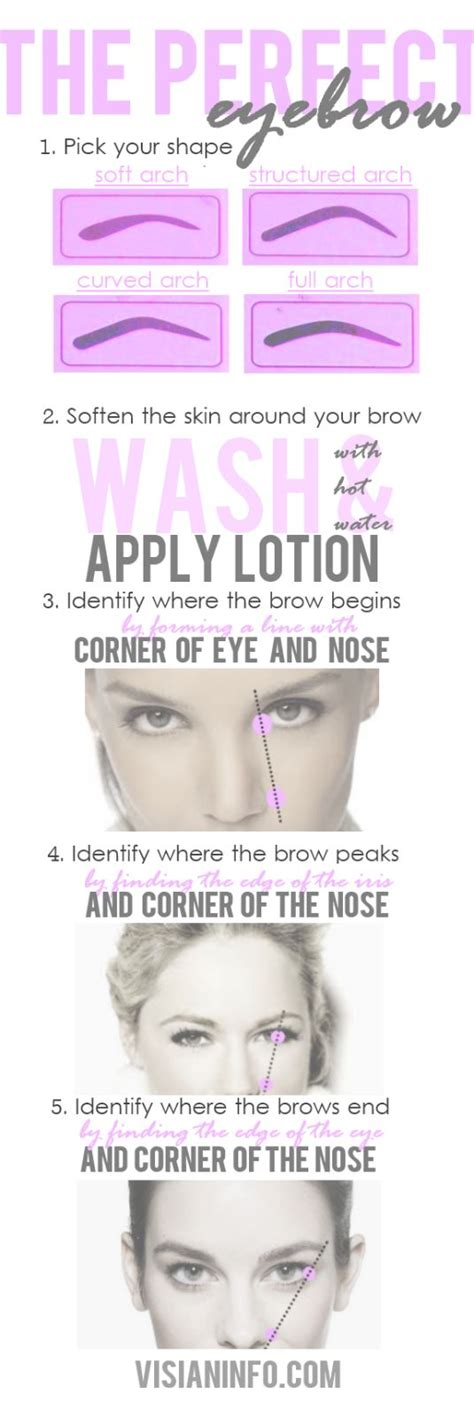 12 Tips On How To Pluck Your Eyebrows by 17 Best Images About Tips And Tricks On