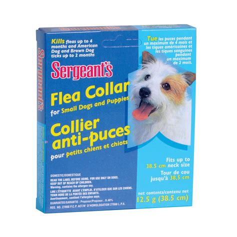 flea collar for puppies sergeant s flea collars for dogs