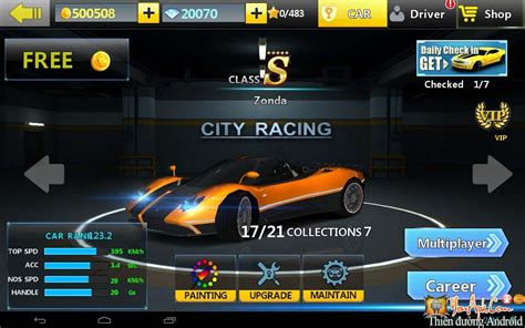 game android city racing 3d mod city racing 3d mod tiền game đua xe nhiều si 234 u xe cho
