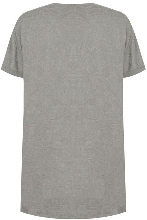 Tshirt Circle C3 t shirt gris noir avec d 233 tails sur les 201 paules