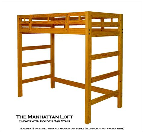 Bunk Bed Frames Loft Bed Frame Popideas Co