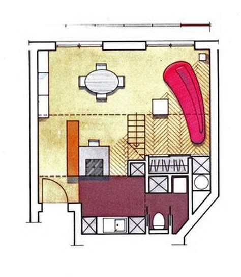 50 square meter very stylish 50 square meter family duplex apartment