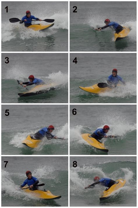 kayak surfing between two boats surf kayak skills
