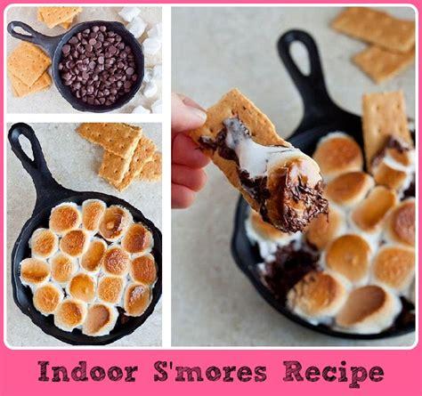diy indoor s mores recipe diy craft projects