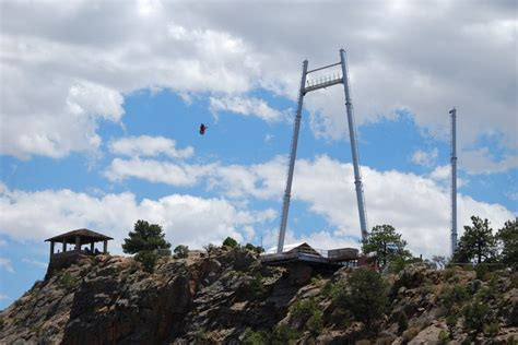 royal gorge bridge swing pin by royal gorge bridge park on park attractions at