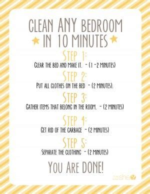 how to clean your bedroom 17 best ideas about room cleaning tips on