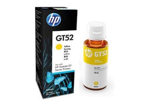 Hp Tinta Original Gt 52 Yellow 70 Ml консуматив hp gt52 yellow m0h56ae на топ цена ardes bg