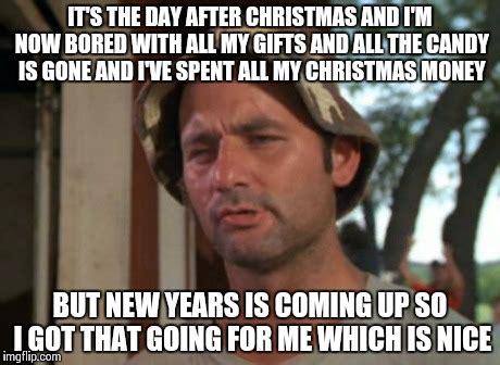After Christmas Meme - pretty much everyone on the day after christmas be like