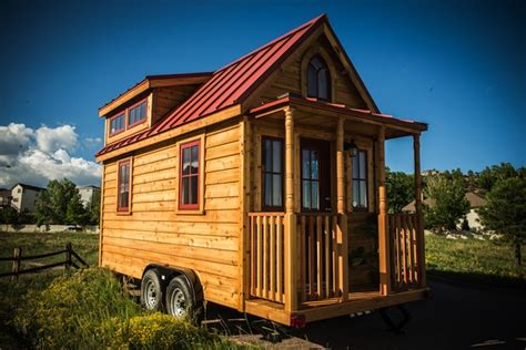 Elm 18 Overlook 117 Sq Ft Tumbleweed Tiny Home On Wheels Tumbleweed Tiny Houses On Wheels