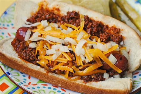 chili for chili dogs chili recipe dishmaps