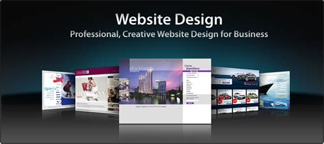 business web design homepage website design