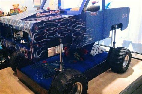 semi truck toddler bed truck bed kids bedrooms pinterest