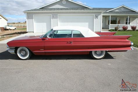 1961 Cadillac Convertible For Sale by 1961 61 Cadillac Series 62 Convertible