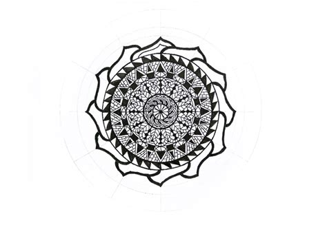 how to therapy therapy how to draw a mandala