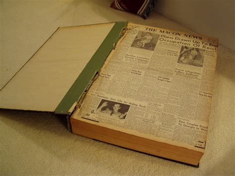 Books Newpapers As by Make An End Table From Bound Vintage Newspapers