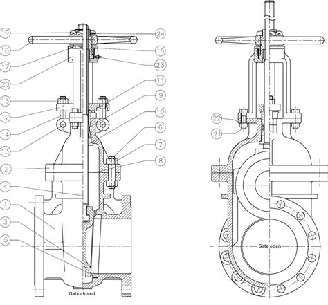gate valve cross section vb valve automation ltd