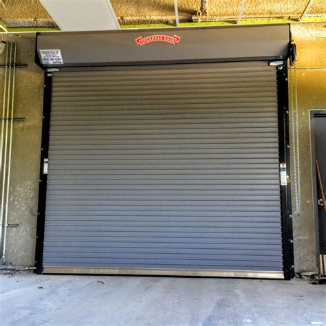 Roll Up Insulated Overhead Doors Rolling Steel Doors