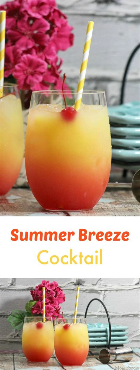 summer breeze cocktail recipe great for parties
