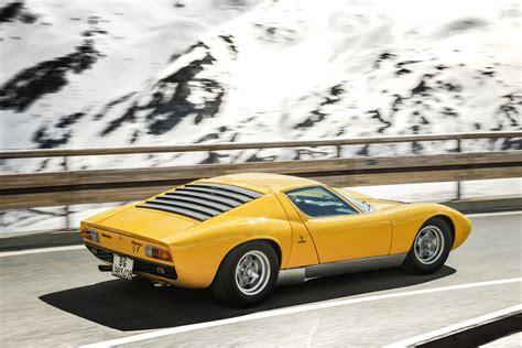 Used Lamborghini Miura Lamborghini Miura Used To Recreate Italian
