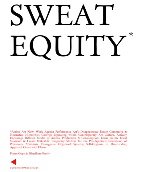 sweat equity oui performance alternatives