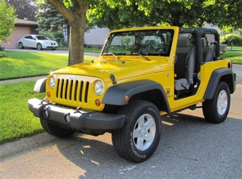 yellow jeep 9 best images about yellow jeep car on
