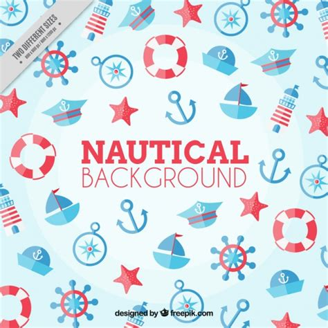 nautical background nautical background and blue color vector free