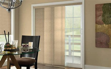 Sliding Panel Track Shades Indiana Blinds Panel Track Shades For Patio Doors