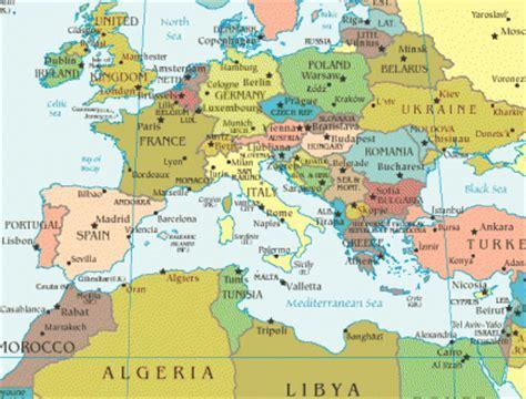 europa y africa mapa politico mapa de europa y africa norte imagui