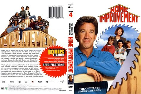 home improvement season 4 tv dvd scanned covers