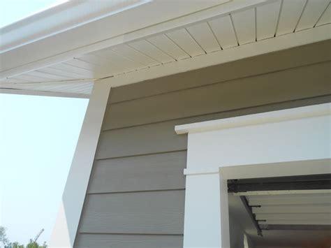 closeup of aluminum wrap fascia and royal hidden vent