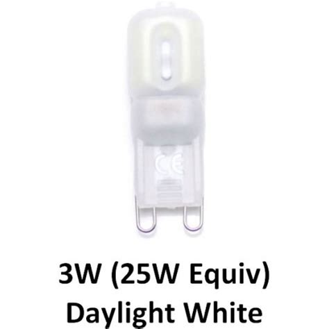 g9 light bulb daylight 2 5w g9 25w equiv dimmable led capsule light bulb